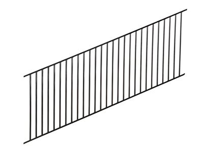 Slope Adjustable Fence
